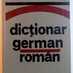 DICTIONAR GERMAN - ROMAN de JEAN LIVESCU , EMILIA SAVIN , 1982