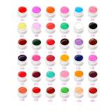 Set geluri color Gdcoco Pure Series, 36 culori