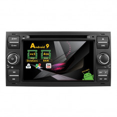 NAVIGATIE FORD FOCUS MONDEO S MAX ANDROID 9 Octacore 4GB RAM 7 INCH AD BGX38 B