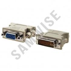 Cumpara ieftin Adaptor DVI-A Tata- VGA Mama