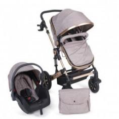Carucior 3 in 1 copii 0 luni+ Kikka Darling Beige