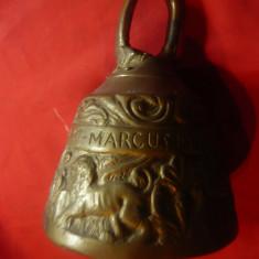 Clopot de Manastire f.vechi pt Sfintii Luca ,Marcu ,Matei ,Ioan ,-bronz h=15cm