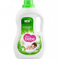 Detergent lichid TEO BEBE Cotton Soft Aloe, 1.1l, 20 spalari