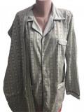 Pijama barbati cu maneca lunga cu nasturi si pantaloni lungi cod 189
