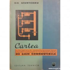 Cartea instalatorului de gaze combustibile
