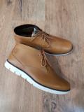Ghete-pantofi barbat TIMBERLAND Sensorflex originale piele foarte usoare 40, Camel, Piele naturala