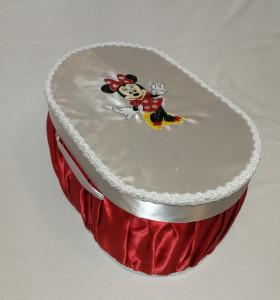 Cutie / cufar pentru trusou de botez Disney - MINNIE MOUSE