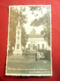 Ilustrata Alba Iulia  1935- Monumente Lausenau si Custozza, Circulata, Fotografie