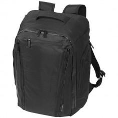 Rucsac Laptop, Everestus, 15.6 inch, 300D poliester cu PU accente de vinyl, negru, saculet si eticheta bagaj incluse