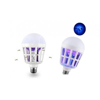 Bec cu lampa UV anti-insecte foto