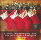 CD Christmas Family Favourites: Frank Sinatra, Nat King Cole, Brenda Lee