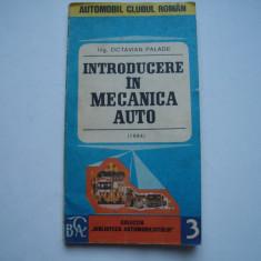 Introducere in mecanica auto - Octavian Palade
