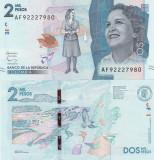 Columbia 2000 Pesos 2016 UNC