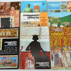 Lot 9 reviste MAGAZIN ISTORIC - 1971