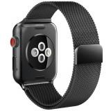 Curea otel inoxidabil Tech-Protect Milaneseband Apple Watch 1/2/3/4/5 (38/40mm) Black