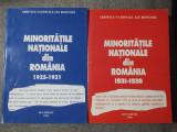 Ioan Scurtu et al. - Minoritățile naționale din România (2 vol: 1925 1931 1938)