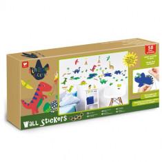 Kit Decor 58 Stickere Dinozauri, Walltastic