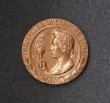 Medalie rara Societatea profesorilor de Educatie fizica si sport - Invatamant