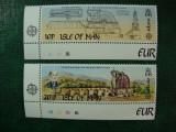 ISLE OF MAN 1983 SERIE EUROPA MNH, Nestampilat