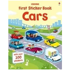 Cars - first sticker book