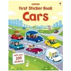 Cars first sticker book