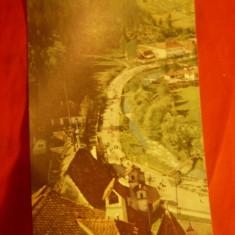 Ilustrata - Vedere de la Castelul Bran , anii '60