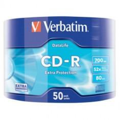 CD-R Verbatim, 700MB, 52X, 50 buc, 43787 , plus cablu micro usb