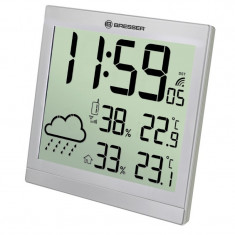 Statie meteo Bresser JC, termometru, higrometru, alarma, ecran digital