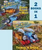 Thomas & Friends Summer 2018 DVD Movie Deluxe 2-In-1 Pictureback with Stickers (Thomas & Friends)
