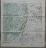 Pecineaga si Giurgenii// harta Serviciul Geografic al Armatei 1939