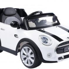 Masinuta electrica Mini Cooper, alb
