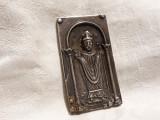 MEDALION argint SFANTUL ZENO de VERONA rar MASIV vechi OPULENT de colectie