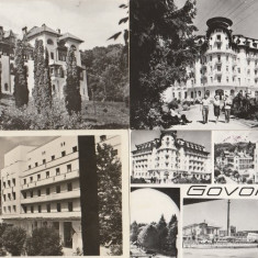 Govora - lot 4 carti postale RPR