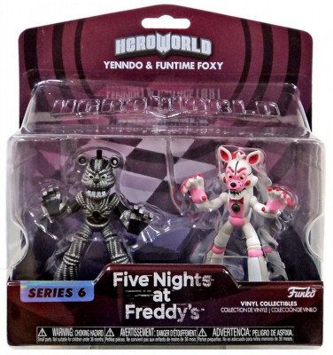 Set 2 figurine Hero World: Lolbit & Yenndo Five Nights at Freddy`s FNAF foto