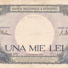 ROMANIA 1000 LEI 1941 VF