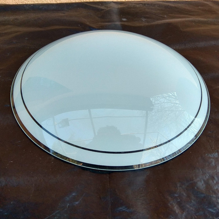 abajur sticla plafoniera aplica tavan lustra lampa 25cm Ø