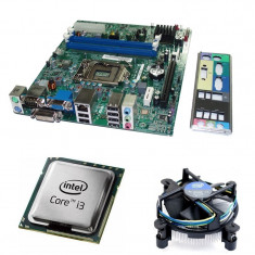 Kit Placa de baza Acer H61H2-AD, DDR3, Intel Core i3-3220 3.3GHz, 2 nuclee,...