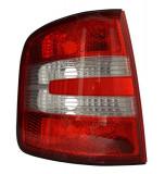 Cumpara ieftin Stop tripla lampa spate stanga (semnalizator alb, culoare sticla portocaliu) SKODA FABIA LIMUZINA COMBI 2004-2008
