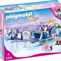 Playmobil Magic - Sanie cu cuplu regal