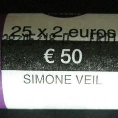 Fisic Monede 2 Euro Comemorative Franta 2018