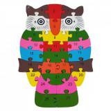 Cumpara ieftin Puzzle BUFNITA, din lemn, Alexer
