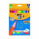 Set creioane colorate Evolution Bic, P18