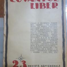 Cuvântul Liber, Nr. 23, 28 iunie 1924