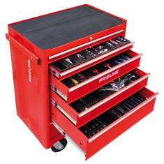 Dulap scule echipat Proline, 688 x 458 x 735 mm, 6 sertare, 193 piese