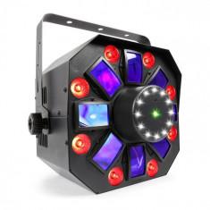 Beamz MULTIACIS IV LED DERBY, LASER, WASH A STROBE DMX-/STAND-ALONE - MOD