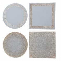 Farfurie de Craciun - Mirror - mai multe modele | Kaemingk
