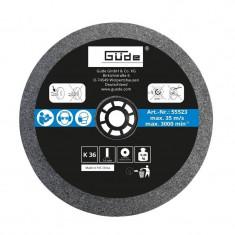 Disc abraziv pentru polizor de banc Guede Gude55523 O125x16x20 mm K36