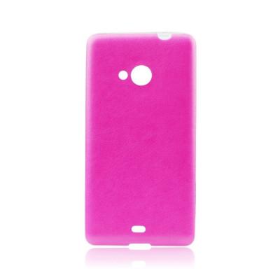 Husa SAMSUNG Galaxy S6 Edge - Jelly Piele (Roz) foto
