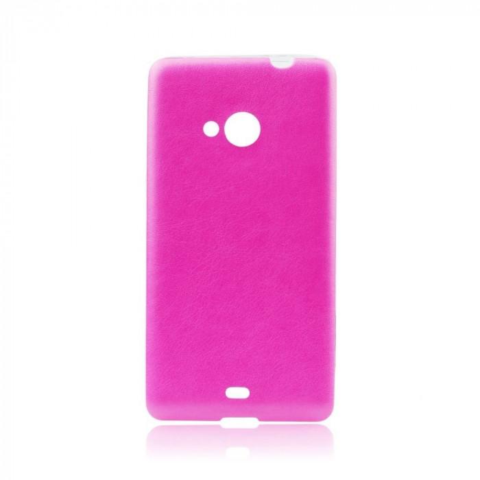 Husa SAMSUNG Galaxy S6 Edge - Jelly Piele (Roz)