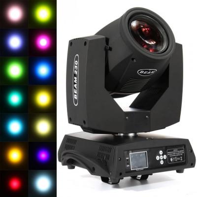 Proiector RGB Profesional pentru Scena - Jocuri de lumin BEAM 230 foto